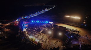 UAE music event takes place 1,600m above sea level