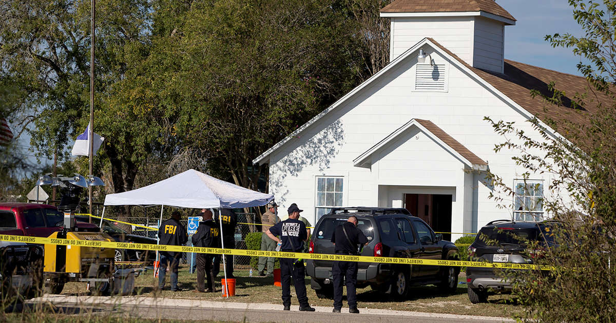 Texas church shooter had told judge he wouldn't hurt again
