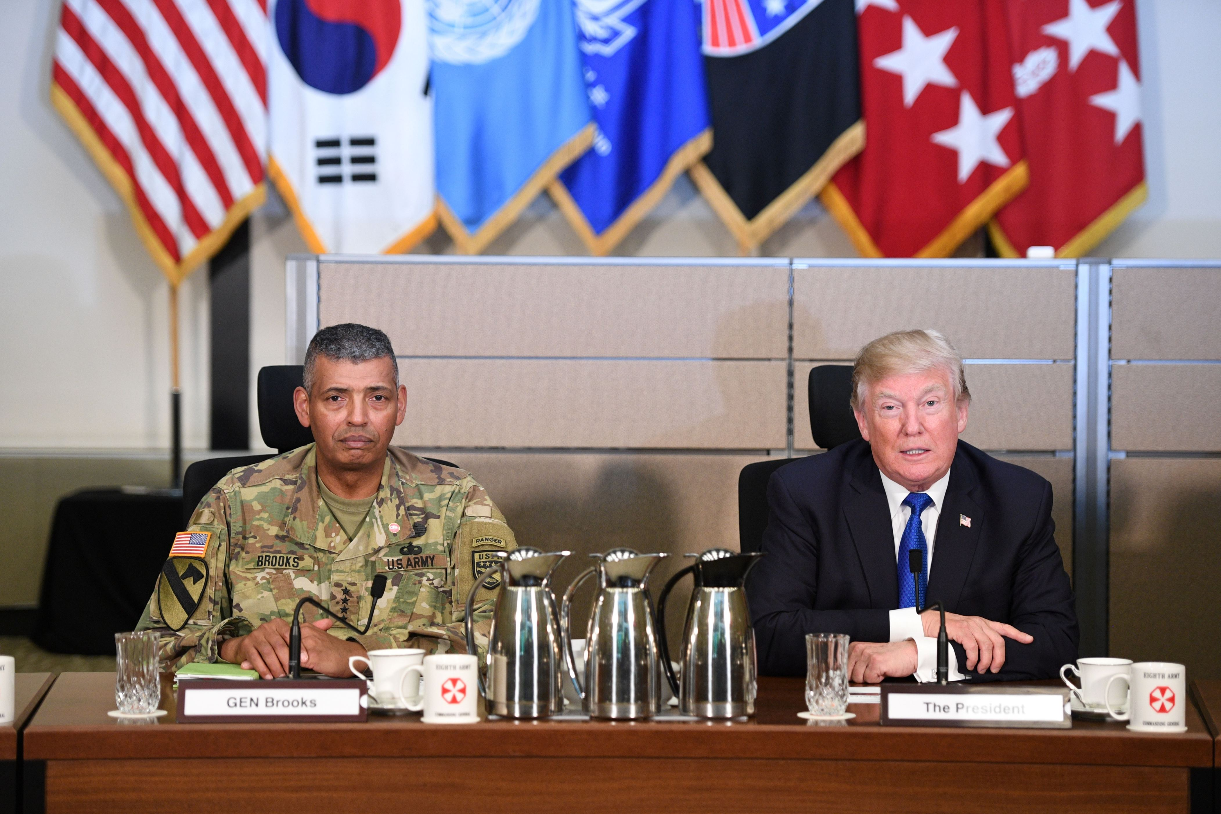 Trump requests additional $4 billion to counter North Korea
