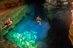 Amazing underwater caves that will