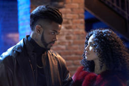 "Trevor Jackson and Lex Scott Davis in ""Superfly"""