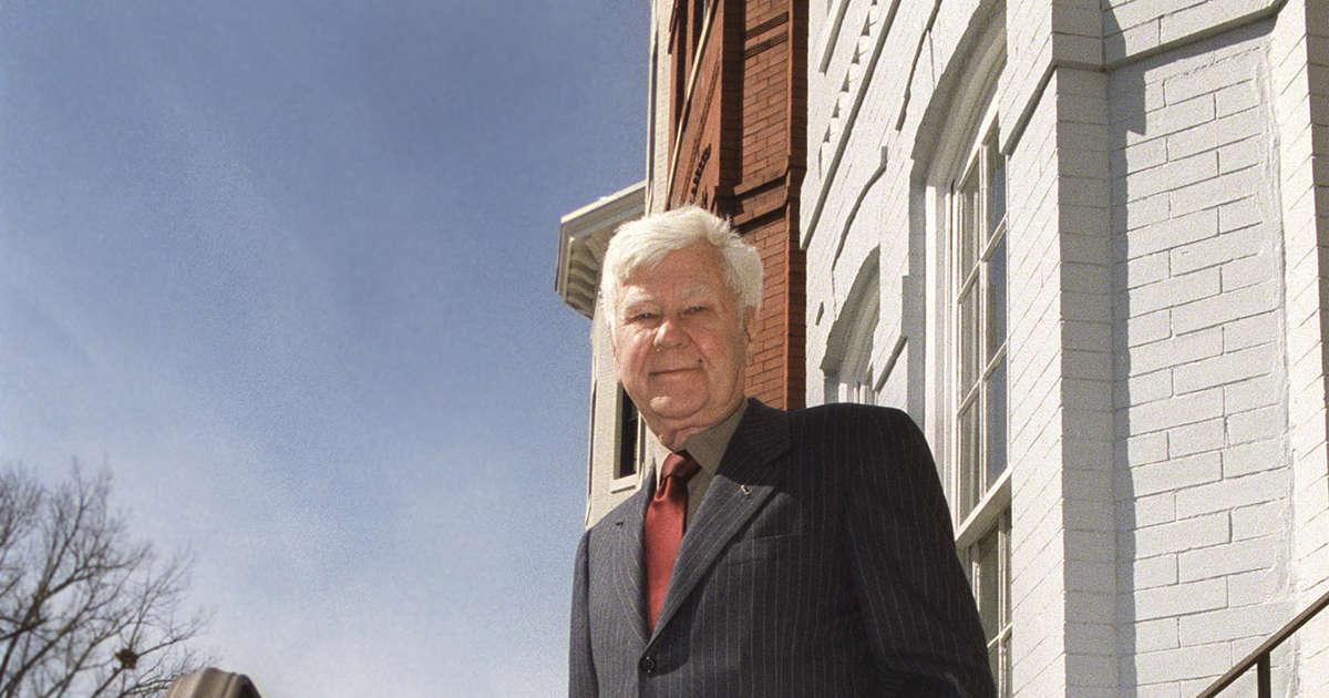 Former US Sen. John Melcher of Montana dies at 93