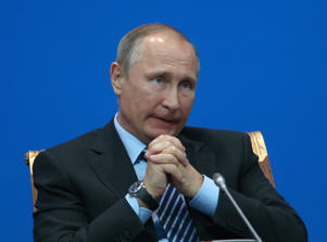 Vladimir Putin criticised US actions in Syria.