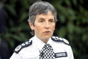 File photo of Met police chief Cressida Dick