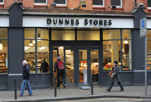 General view of Dunnes Stores in Dublin.