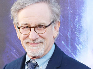 Steven Spielberg arrives to the Warner Bros. Pictures world premiere of 'Ready Player One' held at Dolby Theatre on March 26, 2018 in Hollywood, California.
