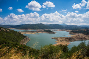 Lago del Coghinas, artifical lake, Sardinia, Italy - provided by Shutterstock