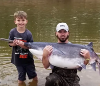 8-year-old boy makes once-in-a-lifetime catch in Arkansas River