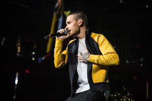 Liam Payne performs at 93.3 FLZ's Jingle Ball at Amalie Arena on Saturday, Dec. 16, 2017, in Tampa, Fla. (Photo by Amy Harris/Invision/AP)