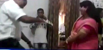 Govt officials in MP caught dancing inside office