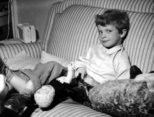 SWEDEN - APRIL 30:  Crown Prince Aged 6.  (Photo by Keystone-France/Gamma-Keystone via Getty Images)