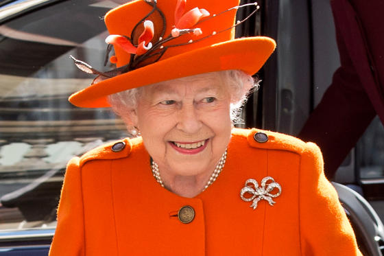 Slide 1 of 19: LONDON, ENGLAND - MARCH 20: Queen Elizabeth II visits the Royal Academy of Arts to mark the completion of a major redevelopment of the site on March 20, 2018 in London, England. (Photo by Mark Cuthbert/UK Press via Getty Images)