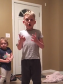 Kids' reaction to mom's prank is hilarious