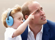 What Prince William's body language says about him as a dad