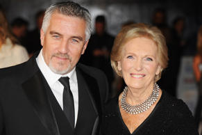Paul Hollywood and Mary Berry attend the National Television Awards 2014 on January 22, 2014 in London, England.