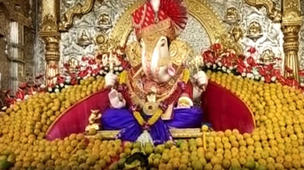 Akshya Tritiya: Ganpati decorated with 11000 mangoes