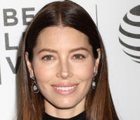 "Jessica Biel attends the premiere of ""The Devil And The Deep Blue Sea"" at the Tribeca Film Festival in New York."
