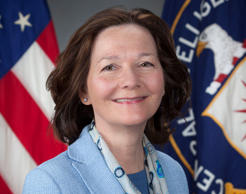 This March 21, 2017, photo provided by the CIA, shows CIA Deputy Director Gina Haspel.