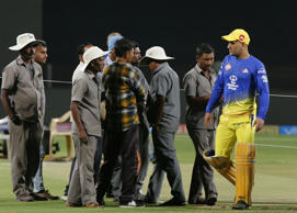 Chennai Super Kings captain MS Dhoni.