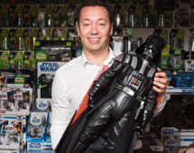 Star Wars superfan celebrating 'May the Fourth' with his 1,400+ figurines