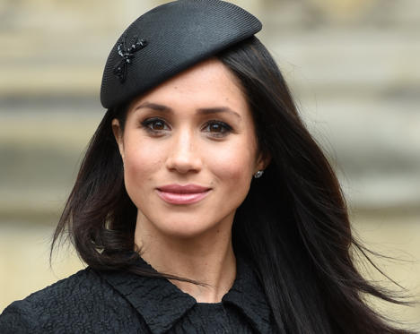 Slide 1 of 13: Meghan Markle is living the dream of many American girls by marrying into the British royal family. (Here's what you need to know about their cake!) This actress and humanitarian may be classy and chic, but she loves simple, basic foods.