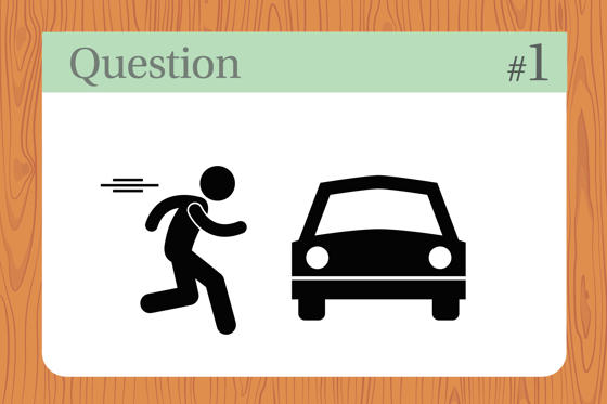 Slide 1 of 19: A man pushes his car to a hotel and tells the owner he's bankrupt. Why?Answer: He's playing Monopoly. Nothing like a good ol' classic board game.