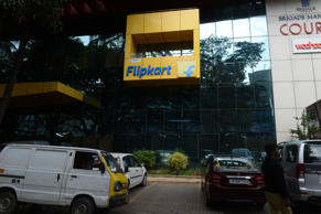 Outside view of Flipkart office in Begaluru