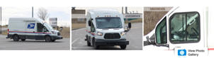 a truck that is driving down the road: Ford-Transit-mail-truck-spy-photos-Reel