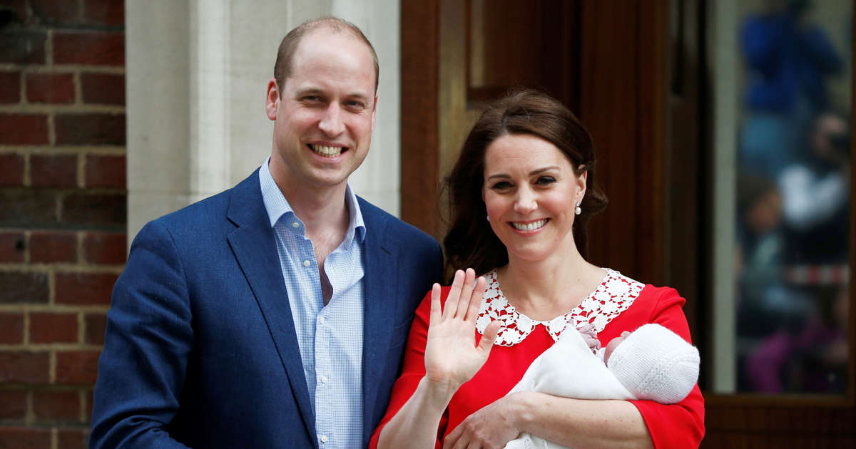 Kate, Duchess of Cambridge, Gives Birth to a Boy