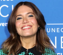 Mandy Moore attends the 2017 NBCUniversal Upfront at Radio City Music Hall in New York.