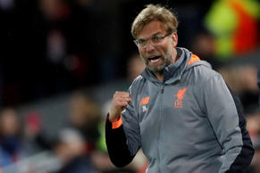 Soccer Football - Champions League Semi Final First Leg - Liverpool vs AS Roma - Anfield, Liverpool, Britain - April 24, 2018   Liverpool manager Juergen Klopp             Action Images via Reuters/Carl Recine