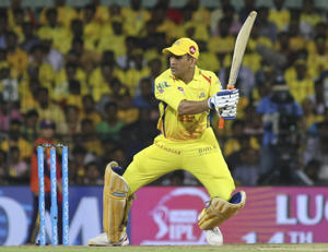 MS Dhoni played a match-winning knock vs RCB