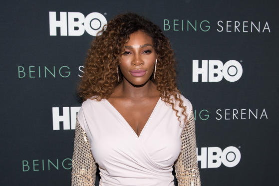 Slide 1 of 22: NEW YORK, NY - APRIL 25:  Serena Williams attends the 'Being Serena' New York Premiere at Time Warner Center on April 25, 2018 in New York City.  (Photo by Mike Pont/WireImage)