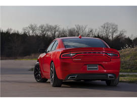 a red car: 2016 Dodge Charger