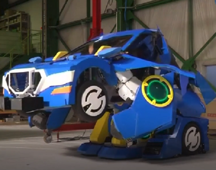 Robot transforms into a car in just 60 seconds