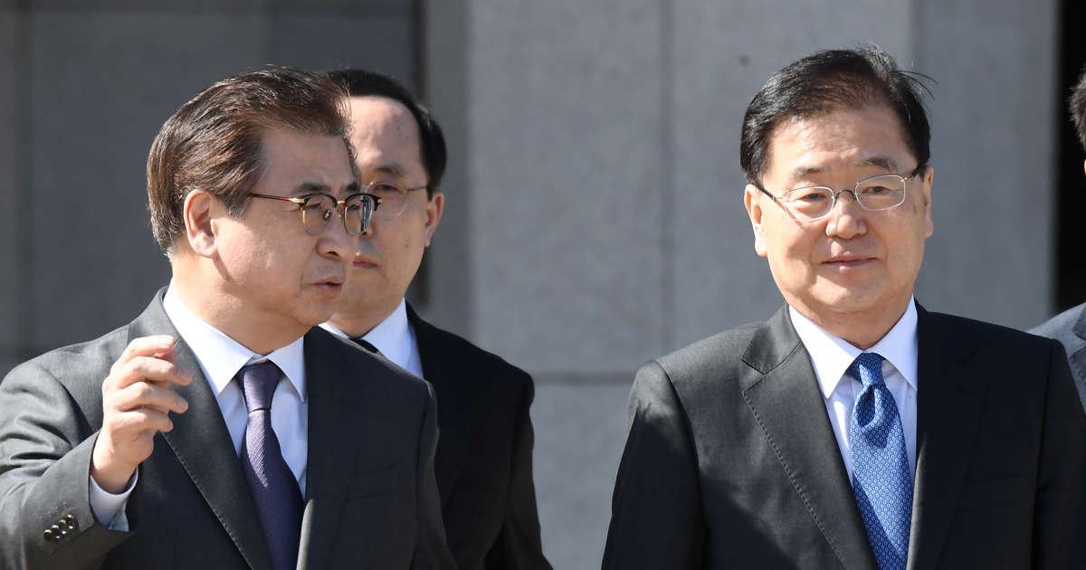 S.Korea's spy chief plays key role in historic meeting with North