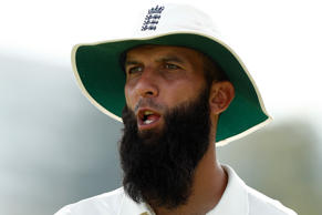 Moeen Ali of England looks on during day two of the Third Test match during the 2017/18 Ashes Series between Australia and England at WACA on December 15, 2017 in Perth, Australia.