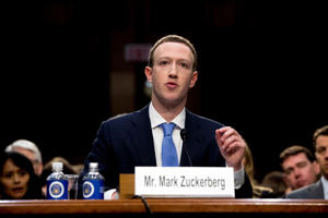 CEO Mark Zuckerberg owns a majority of the voting rights to tCalSTRS.