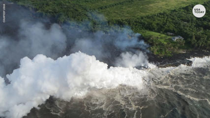 Kilauea's acid steam or 'laze' threatens people in Hawaii