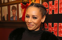 NEW YORK, NY - DECEMBER 21:  Mel B during the photocall for Mel B Joins The Cast of Broadway's 'Chicago' at Sardi's on December 21, 2016 in New York City.  (Photo by Walter McBride/WireImage)