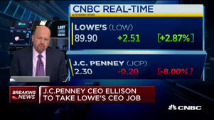 JC Penney CEO Ellsion to take Lowe's top job