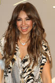 DOWNEY, CA - JUNE 16:  Recording artist Thalia Sodi attends her in store appearance at Macy's on June 16, 2016 in Downey, California.  (Photo by JC Olivera/Getty Images,)