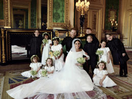Royal wedding official photo Meghan Harry kids