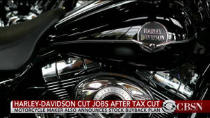 a close up of a motorcycle: Harley-Davidson cuts jobs, repurchases shares after tax cut