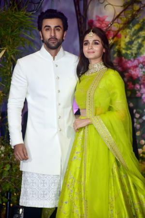 Alia and Ranbir at Sonam Kapoor's wedding
