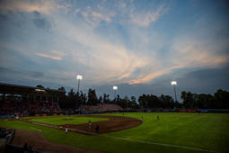 MEXICO CITY, MEXICO - JUN 09:  A general view during a match between Leones de Yucatan and Diablos Rojos as part of Liga Mexicana de Beisbol 2016 at Fray Nano Stadium on June 09, 2016 in Mexico City, Mexico. (Photo by Miguel Tovar/LatinContent/Getty Images)