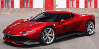 Ferrari unveils a surprise one-off supercar