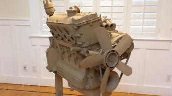 BMW Cardboard Box Engine