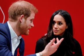Prince Harry and Meghan Markle visit the Terrence Higgins Trust World AIDS Day charity fair at Nottingham Contemporary on December 1, 2017 in Nottingham, England
