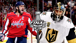 a person wearing a football uniform: Golden Knights, Capitals ready to put on a show in Stanley Cup